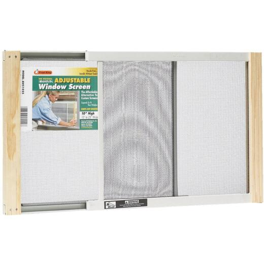 Frost King 15 to 25 In. W. x 10 In. H. Adjustable Metal Rail Screen